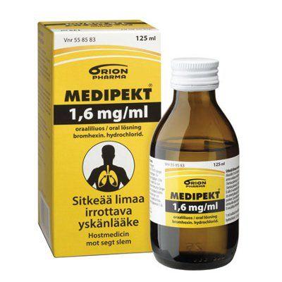 MEDIPEKT 1,6 mg/ml oraaliliuos 125 ml