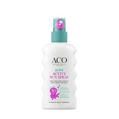 ACO SUN Kids Active sun spray spf 30 175 ml