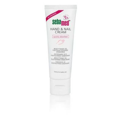 SEBAMED HAND + NAIL CREAM X75 ML