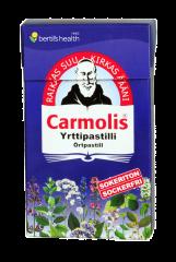 Carmolis Yrttipastilli sokeriton 45 g